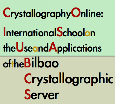 International School on the use and Applications of the Bilbao Crystallographic Server